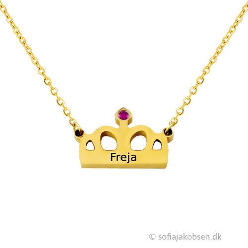 Gaveideer til hende, halskæde med gravering, halskæde med indgravering, smykker med gravering, smykker med indgravering, navnehalskæde, halskæde med navn